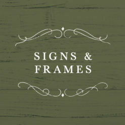 Signs & Frames
